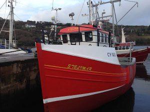 mfv steilmar boat mevagh boatyard