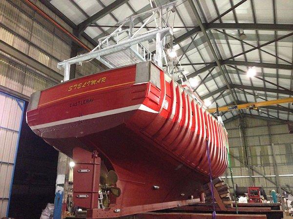 mfv steilmar mevagh boatyard